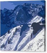 High In The Bavarian Alps Canvas Print