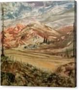 High Meadowland Canvas Print
