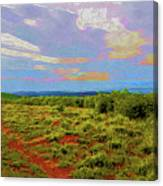 High Mesa Path Canvas Print
