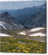 High Mountain Vista Canvas Print