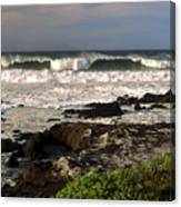 High Ocean Surf Canvas Print