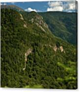 High On The White Mountains Canvas Print