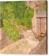 High Peak Art Of Castleton Through Japanese Eyes Canvas Print