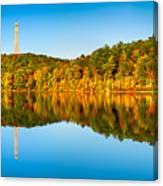 High Point Monument Canvas Print