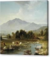 High Point  Shandaken Mountains, 1853 Canvas Print