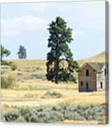 High Prairie Home Canvas Print