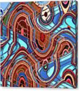 High Rise Abstract Phoenix Canvas Print