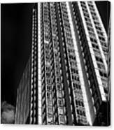 High Rise Abstract Canvas Print