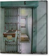 High Risk Solitary Confinement Cell In Prison Canvas Print