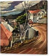 High Road At Jerome Canvas Print