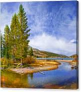 High Sierra Heaven Canvas Print