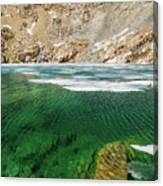 High Sierra Tarn Canvas Print