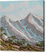 High Sierras Study IIi Canvas Print