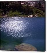 High Sierrastreasure Lakes Viii Canvas Print