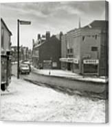 High Street, Lye - 1960's    Ref-60 Canvas Print