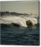 High Surf Canvas Print