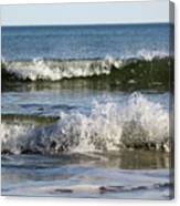 High Tide Coming Canvas Print