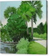 Highbridge Road Trees Canvas Print