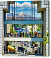 Highland And Hollywood C Canvas Print