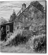 Highland Cottage Kilchoan Ardnamurchan Canvas Print
