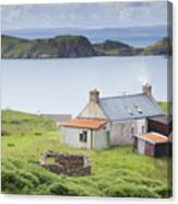 Highland Cottage Canvas Print