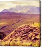 Highland Landscape Canvas Print