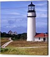 Highland Light Truro Canvas Print