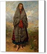 Highland Mary Canvas Print