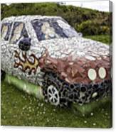 Highland Stoneware Car Canvas Print