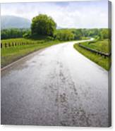 Highland Scenic Highway Route 150 Canvas Print
