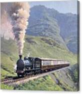 Highland Steam Canvas Print
