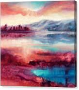 Highland Sunrise Canvas Print