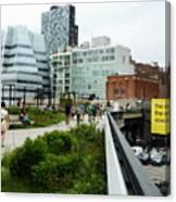 Highline Parking Canvas Print