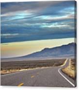 Highway 130 To Minersville Canvas Print