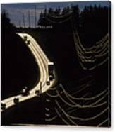 Highway Sunset Canvas Print