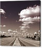 Highway To Paradise Canvas Print