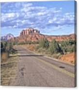 Highway To Sedona Canvas Print