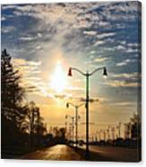Highway To The Sun Canvas Print