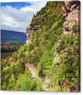 Hike Up Mt Iron Wanaka New Zealand Canvas Print