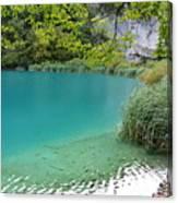 Hiking Kaluderovac Lake Canvas Print
