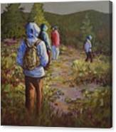 Hiking The Paintbrush Trail, Manning Provincial Park, B. C., Revisited Canvas Print