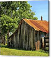Hill Country Barn Canvas Print