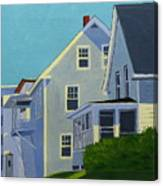 Hill Houses Canvas Print