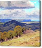 Hill Shadows Kanimbla  Canvas Print