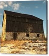 Hill Top Barn Canvas Print