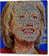 Hillary Presidents Mosaic Canvas Print