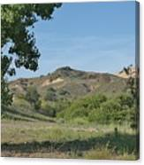 Hills In Peters Canyon Canvas Print