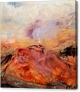 Hills In The Autumn Canvas Print