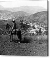 Hills Of Guanajuato - Mexico - C 1911 Canvas Print