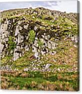 Hills Of Hadrians Wall England Canvas Print